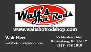 Walt's Hot Rod Shop