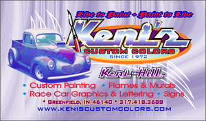 Keni's Custom Colors  -  Since 1972